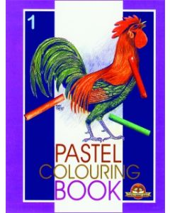 Pastel Colouring Book -1