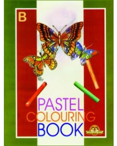 Pastel Colouring Book -B