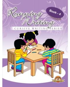 Running Writing Cursive Writing Series Book -4