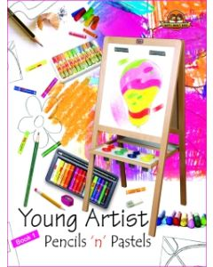 Young Artists Pencils N Pastels Book -1