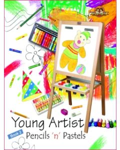 Young Artists Pencils N Pastels Book -2