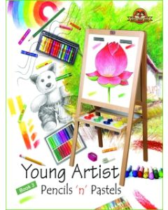 Young Artists Pencils N Pastels Book -3