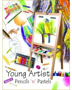 Young Artists Pencils N Pastels Book -4