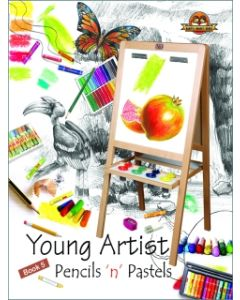 Young Artists Pencils N Pastels Book -5