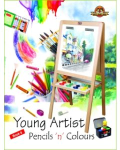 Young Artists Pencils N Pastels Book -6
