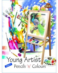 Young Artists Pencils N Pastels Book -7