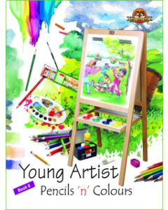 Young Artists Pencils N Pastels Book -8