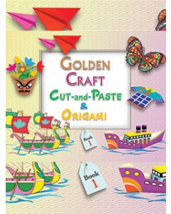 Golden Craft Cut And Paste & Origami Part -1