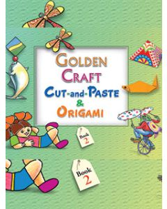 Golden Craft Cut And Paste & Origami Part -2
