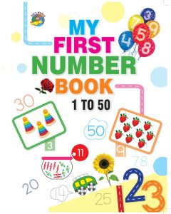 My First Number Book - 1-50
