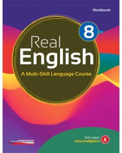 Real English Workbook - 2018 Edition - Class 8