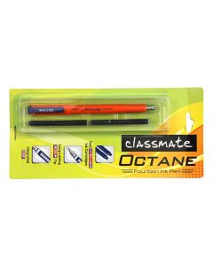 Classmate Octane Fountain Pen and Ink Cartridge