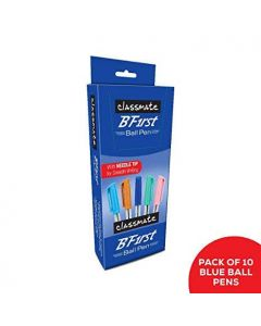 Classmate BFirst Ball Pen (Blue) - Pack of 3 (30 Pens)