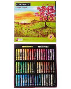 Classmate Oil Pastels, 52 Colours