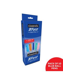 Classmate BFirst Ball Pen - Star Series (Blue) - Pack of 10
