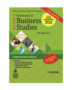 Textbook of Business Studies for Class XI