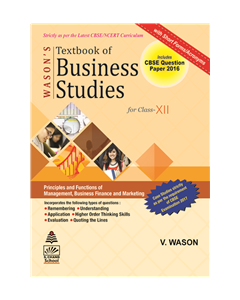 Wason's Textbook Of Business Studies Book