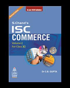 ISC Commerce Book-XI (Vol.I)