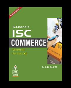 ISC Commerce Book-XII (Vol.II)
